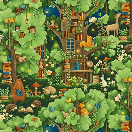 Forest Fables -- 19614  Multi Forest Animal Treehouse