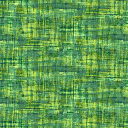 Brushstrokes-Green