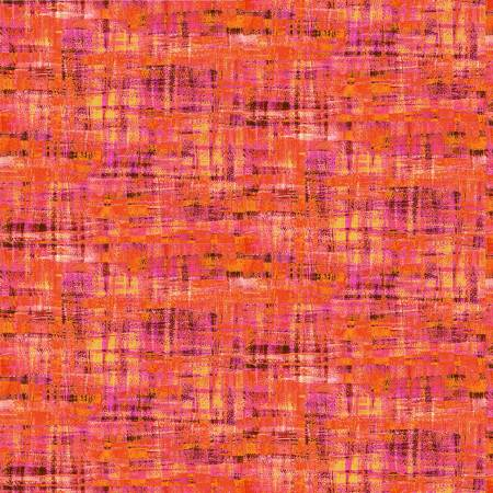 Brushstrokes -- 120-19707 Pink/Orange