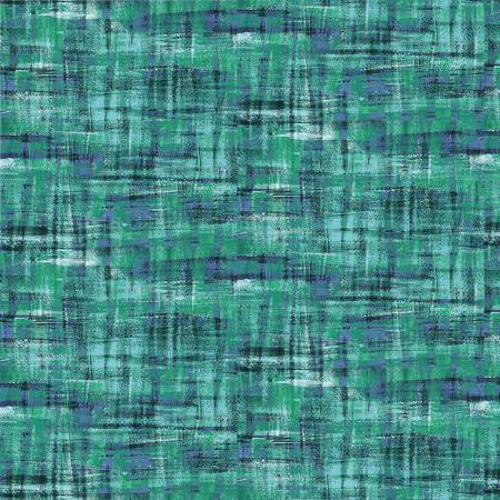 Brushstrokes -- 120-19708 Teal/Blue