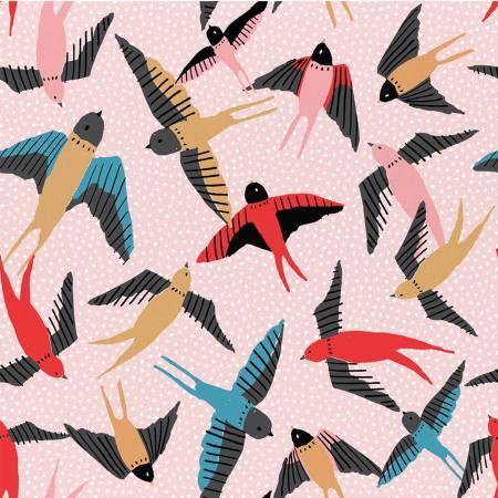 Pink Sailor - Birds