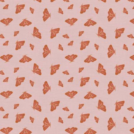 120 21689 Tiger Lily Trail Moth for Paintbrush Studio. 100% cotton 43 wide