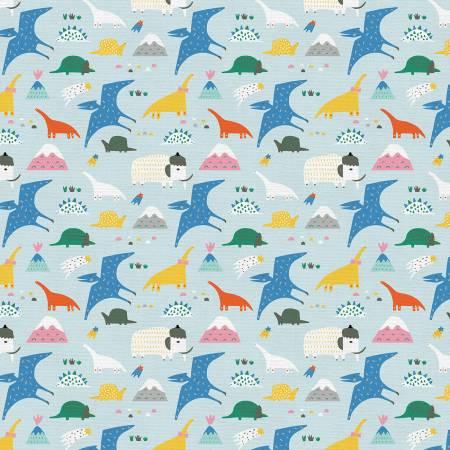 Animal Alphabet Dinosaurs Blue