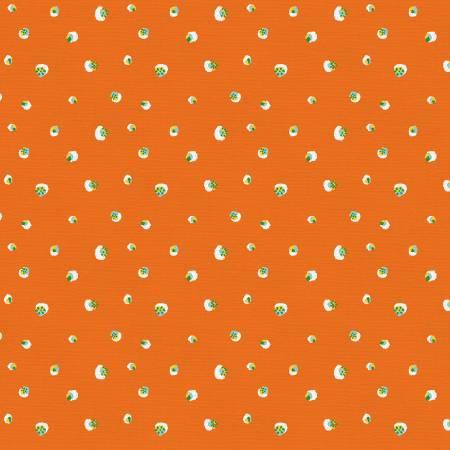 Citrus House - Polka Dot in Orange