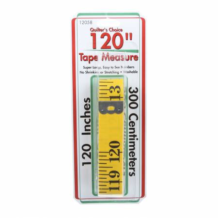 Tape Measure 120in Yellow Fiberglass