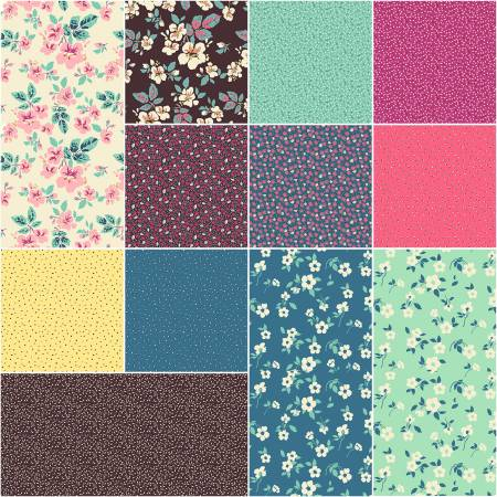 Fat Quarter Bundle Tiara 12pcs/bundle