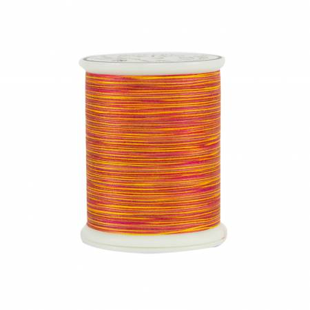 King Tut Cotton Quilting Thread 3-ply 40wt 500yds 929 Chariot of Fire