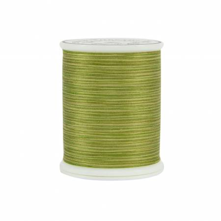 King Tut Cotton Quilting Thread 3-ply 40wt 500yds 990 Green Olives