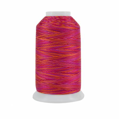 King Tut Cotton Quilting Thread 3-ply 40wt 2000yds Ramses Red