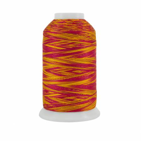 Sewfie K T Cotton Quilting Thread 3-ply 40wt 2000yds Chariot of Fire