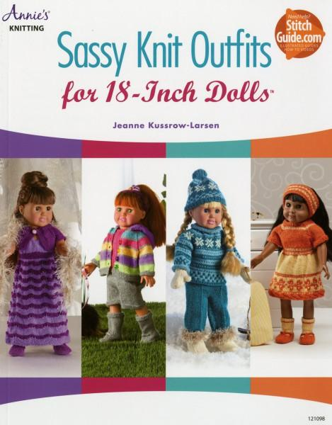 Sassy Knit Outfits for 18 Dolls