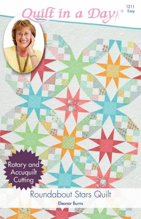 Roundabout Stars Quilt Pattern