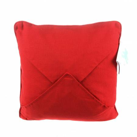 Red Embroidery Pillow