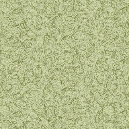 Accent on Sunflowers 1225B-43 Napa Swirl Green