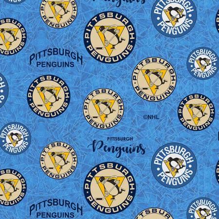 NHL-Pittsburgh Penguins throwback logo