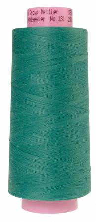 1228-1091 Deep Aqua Seracor Mettler Serger Thread 2734yd