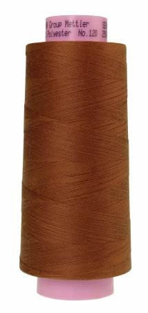 1228-1131 Brass Seracor Mettler Serger Thread - Brass 2734yd
