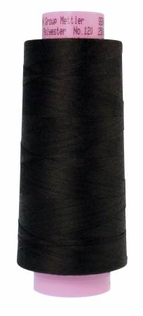 1228-4000 Black Seracor Mettler Serger Thread 2734yd