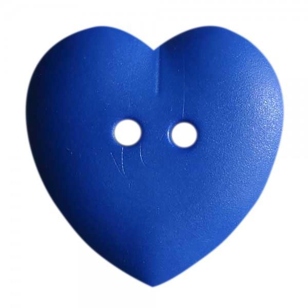Buttons - 123625 Blue Heart