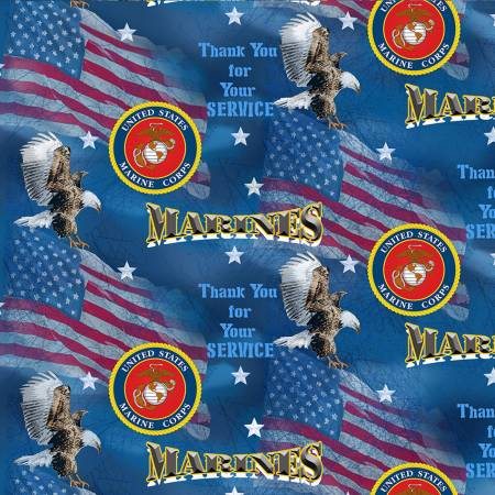 Military Flags Marines