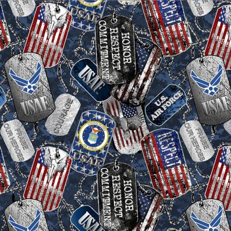 Military Dogtags Air Force