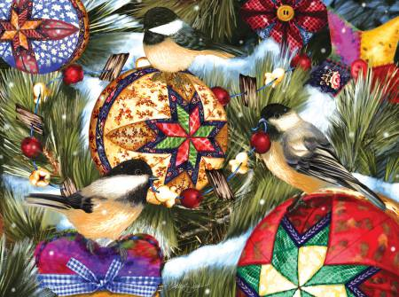Birds and Ornaments Puzzle 1000pc