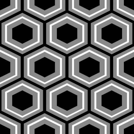 Black/Grey Octagon