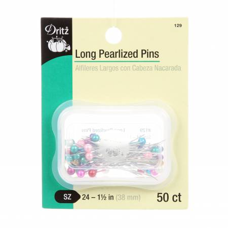 Long Pearlized Pins