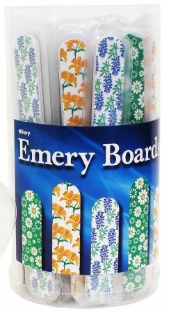 Floral Pattern Emery Boards