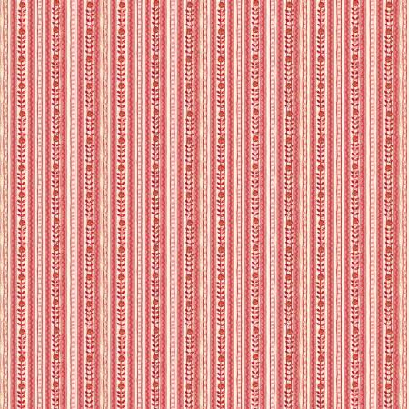 Rose Tonal Stripe Digitally Printed