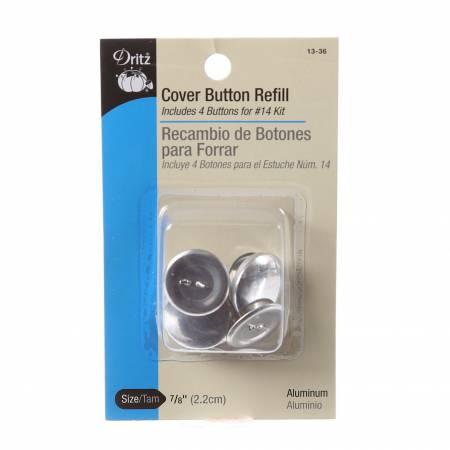 Button Cover Refill 7/8in