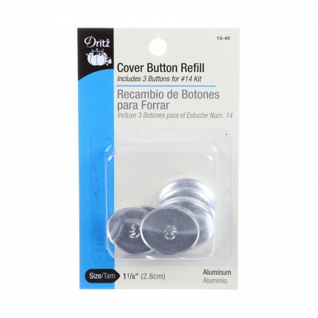 Button Cover Refill 1 1/8in
