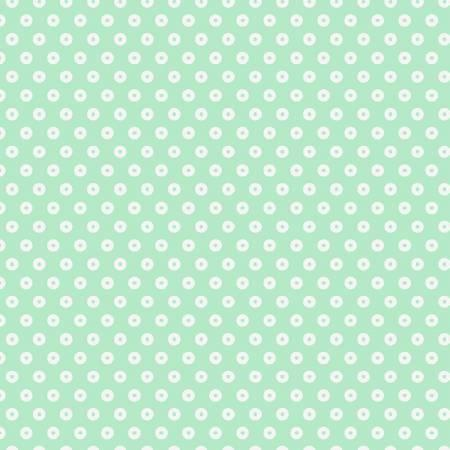 3 Wishes - Playful Cuties Flannel 13006-Mint