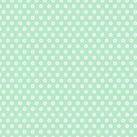 Mint Dot Flannel