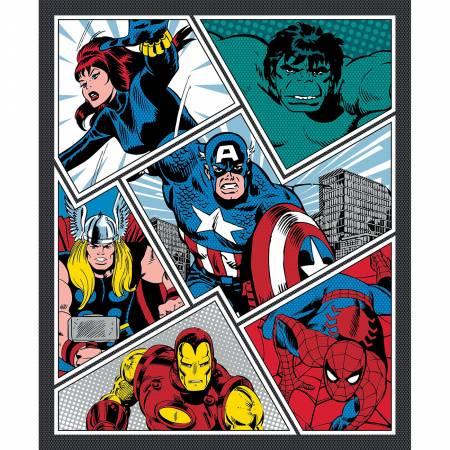 Multi Marvel Power Pop Panel 36in - Kit