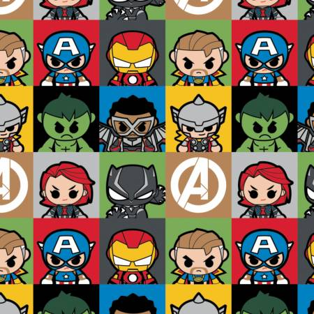 Marvel Kawaii Mini Heroes Blocks
