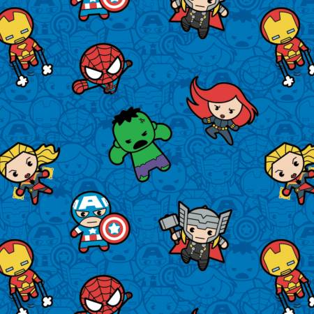 Marvel - Kawaii Action Packed Heroes - Blue