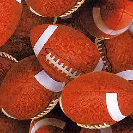 Brown Sports Packed Footballs