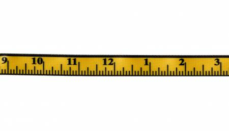Measure-Up Ribbon Yellow 5/8in x 10yds