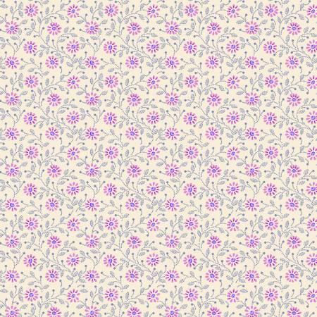 Daisy-Cream/Lavender 1324-52