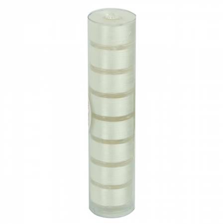 Clear-Quilt Pre-wound Class 15A 78yd Bobbins White 8 Count