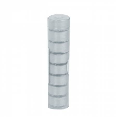 Clear-Quilt Pre-wound Class 15A 78yd Bobbins Light Gray 8 Count