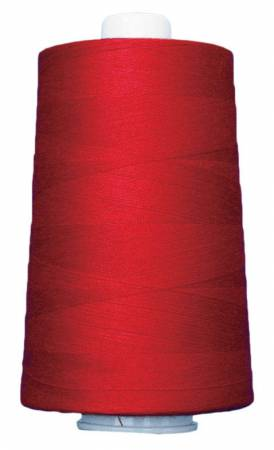 Omni Polyester Thread, Neon Red, 40wt 6000yd