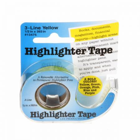 Yellow Highlighter Tape
