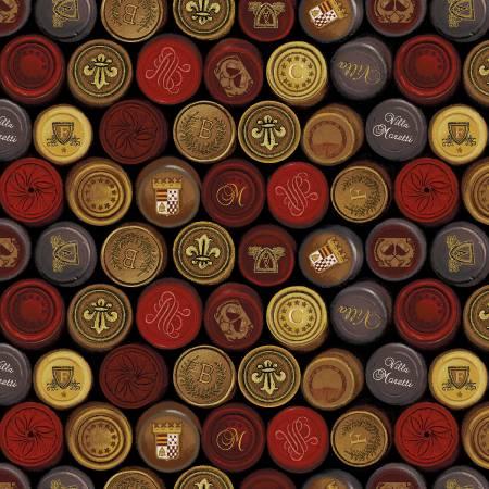 Henry Glass Black Wine Seals