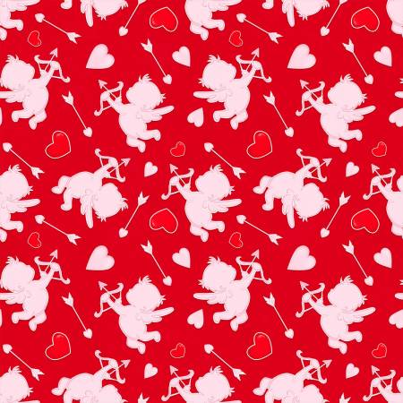 Henry Glass & Co. Love Struck- Red Cupids Valentines Day