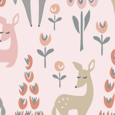 Dwellings Pink Deer