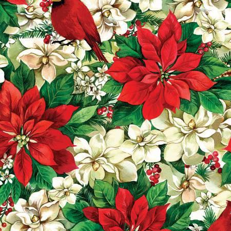 Christmas Garden Poinsettia