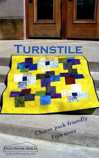 Turnstile Quilt Patten by Esch House Quilts