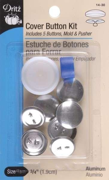 Button Cover Kit 3/4in